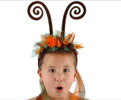 Fairy Antenna Headband Orange